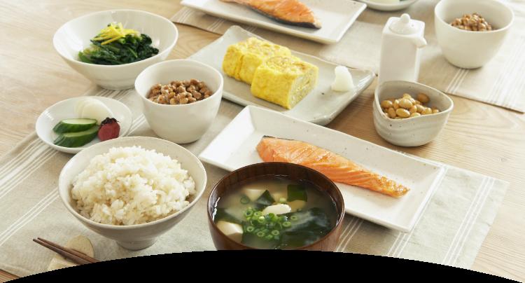 基本的な食品と栄養素のグループ